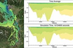 Puget Sound Transect - Salinity