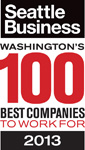 Seattle Magazine 100 Best Companies to Work For