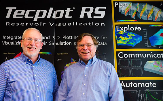 Don Roberts & Mike Peery launch Tecplot RS