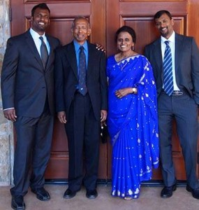 The Olimuthu Family