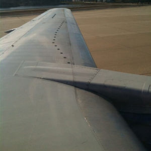 Vortex Generators on a Wing
